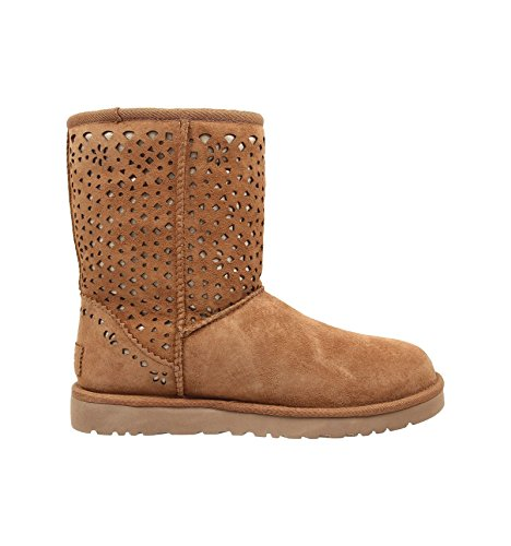 Botte UGG Classic Short Flora Perf - 1010287-CHE