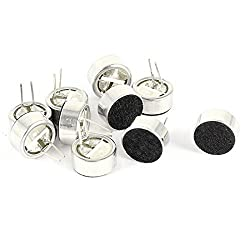 10PCS Soldering SMD Electret Condenser Microphone 9mm x 4.5mm