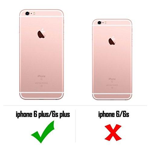 Coque iPhone 6, Étui iPhone 6S [avec Verre Trempé], Étui Housse Téléphone le soulagement Étui TPU Silicone Souple Coque Motif Arrière Case Antichoc Résistant Aux Rayures Housse Étui - Epouvantail Éléphant