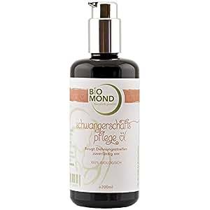 BIO Schwangerschafts-Pflegeöl Schwangerschaftsöl Mama von BIOMOND / 200 ml / ohne Zusatzstoffe / Naturkosmetik / von Hebammen empfohlen