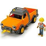 #1018 Bob der Baumeister inklusive Hubi mit Sprachfunktion • Spielzeug Figur Fahrzeuge Set Sound Abschleppwagen