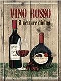 Magnet - Vino Rosso