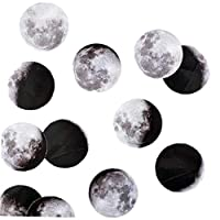 45 Pcs Scrapbooking Stickers Moon Planet Calendar Decoration Hand Craft Planner Scrapbook Lable Diary Stickers