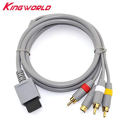Gimax RCA Audio Video S-Video AV-Kabel für Nintendo Wii -