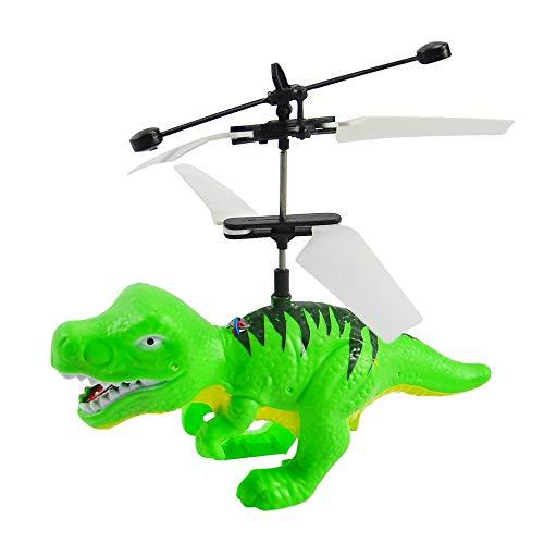 Elektrische rc Fliegende Spielzeug infrarot Sensor Dinosaurier Modell Hubschrauber led Flash Beleuchtung USB Lade kleine rc Spielzeug für Kinder