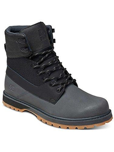 DC Shoes Uncas - Bottes à lacets pour homme ADYB700009 Noir - Black/Battleship