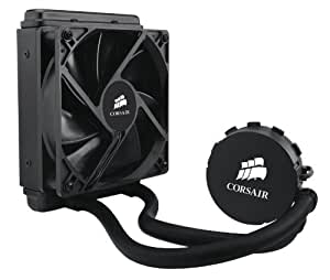 Corsair Hydro H55 CW-9060010-WW Sistema di Raffreddamento a Liquido per CPU, All-in-One con Radiatore, 120 mm, Nero