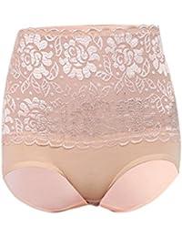 Femmes Culotte Caleçons Taille Haute Sous-vêtements
