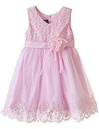 Lilliput Kids Pink Partywear Dress 110002914