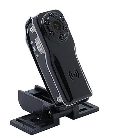 Tangmi 1080P HD Weitwinkel Mini Kamera, kleine Überwachungskamera mit Bewegungserkennung