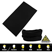 MULTIFUNCTIONAL HEADWEAR UNISEX VARIOUS DESIGNS 3 PACK -Absorbs Sweat, UV Protection, 12-In-1 Headband For Outdoor Sports -Wear as a Neck Gaiter, Ski Snood, Bandana, Scarf And More-For Men and Women
