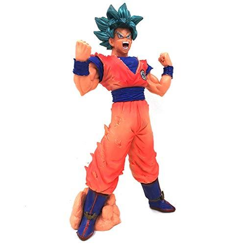 SONGDP Anime Juguete Dragon Ball Kai: Juego de maqueta de Grado Maestro de Super Saiyajin Son Goku de Figurita de Escala 1/8 Estatua cómica