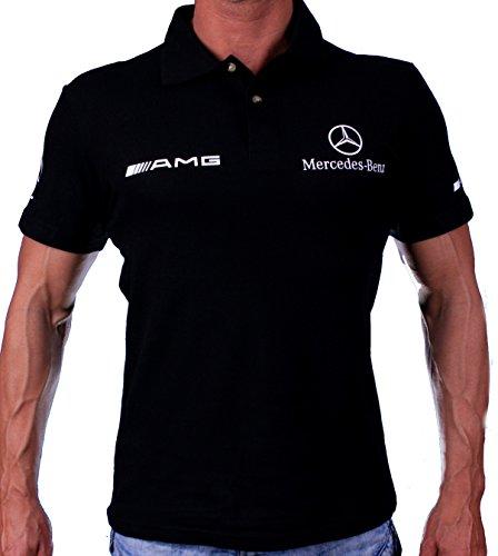 Mercedes-Benz AMG Collar Polo Logotipo Etiqueta Pegatinas de la Camise
