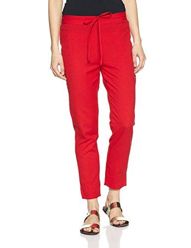 Amazon Brand -Myx Women's Pyjama (SS18NITPJM02_Red_L)