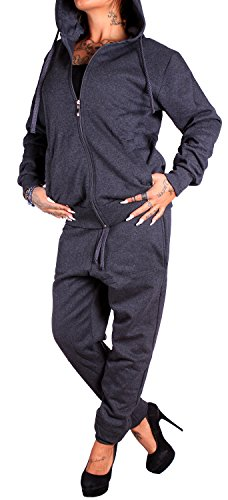 Damen Jogging-Anzug | Uni 586 | (S, Anthrazit) (Damen Anzug Design)