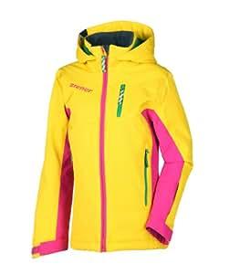 Ziener Annik Aquashield Veste de Ski fille Cyber Yellow Jaune Jaune 176 (EU)