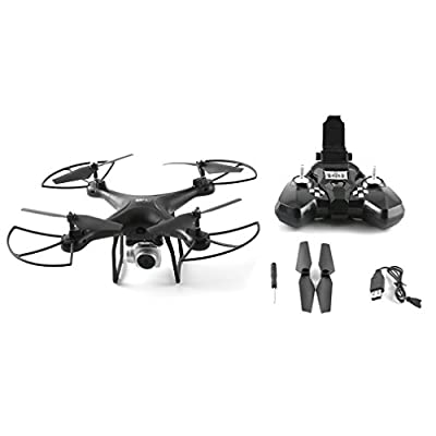 Subtop 360° Flip Quadcopter for Kids and Beginners 2.4Ghz 6 Axle Gyroscope 4 Ch Pressure Altitude Hold Quadcopter 2MP 120° Wide Angle Selfie Drones with HD Camera by Subtop