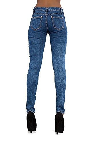 LustyChic - Jeans - Femme Bleu Marine