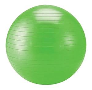 Schildkröt Fitness Gymnastikball, limegreen, 75 cm, 960057 von Schildkröt Fitness