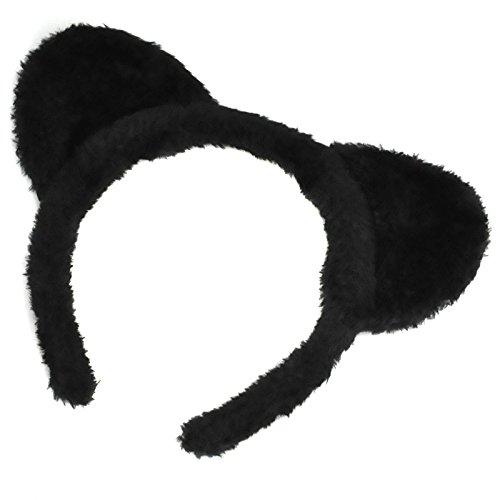 Katzenset Ohren Schwanz Halloween Katze Katzenkostüm Kostüm (Club Halloween Kostüme Für Jungs)