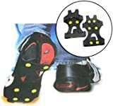 Maxim Ice Grip Cleats Over Shoe Anti Slip To Fit Size 8-10.5 UK