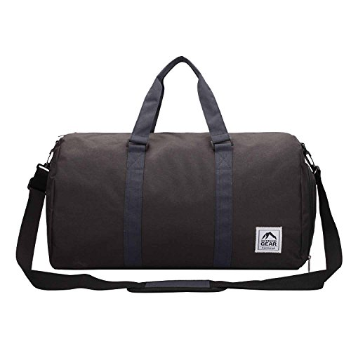 Roamlite Borsa da palestra nero Black Grey medium Black Navy