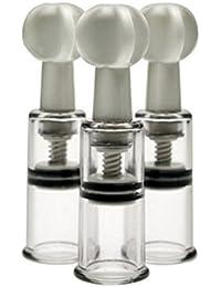 De la tienda de J.J® 3 piezas color beige boquilla de ampliación y de promotor de - NAREX Bystrice, alegres, más grandes de la joyería diseño en forma de pezones 1,8 cm/1,8 cm