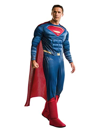 Deluxe Superman Herren Kostüm Justice League One Size