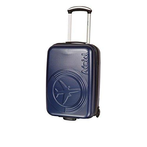 Preisvergleich Produktbild Horizon Koffer Kabine Hartschale polyéthylene 2Rollen 50cm Aerial Technik blau Tinte