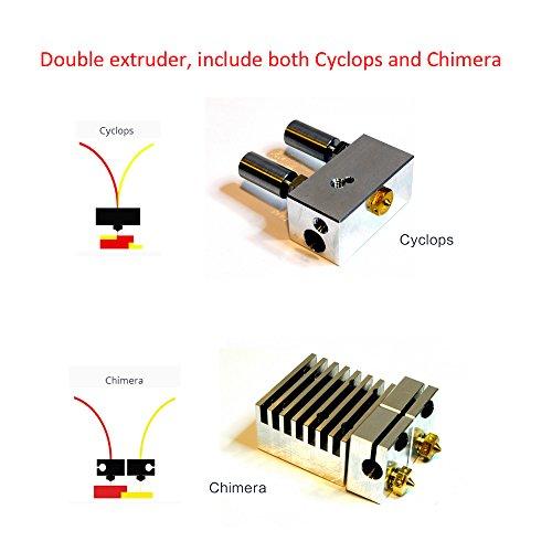FLSUN F5 3D Drucker, Touchscreen Doppel Extruder DIY Drucker Kit Auto Nivellierung Druck Größe 260X260X350mm mit Beheizten Bett und Wifi Modul - 6