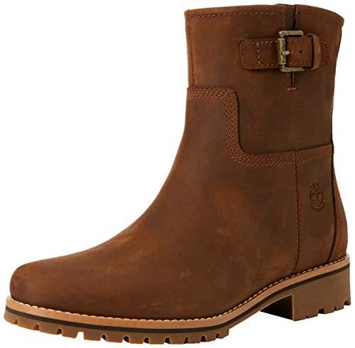 Timberland Damen Main Hill Biker Boots, Braun (Cathay Spice Saddleback 943), 39 EU