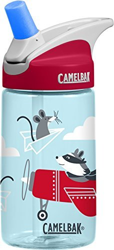 Camelbak Kinder Eddy .4L Trinkflasche, Airplane Bandits, 0.4 Liter (System One Filter)