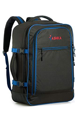 Zaino Vaska approvato come bagaglio a mano capacità 44 litri 55x40x20 cm - Blu Marino