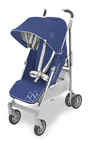 Maclaren Techno XT - Silla de paseo, color medieval blue y gris