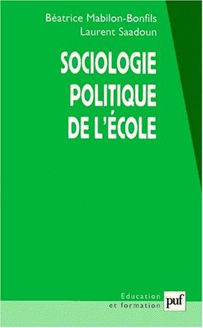 Sociologie politique de l'école
