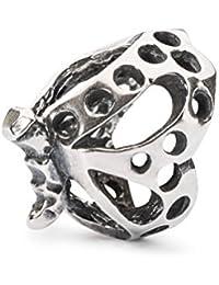 Trollbeads women's bead dancing butterfly, 925silver, TAGBE-10102