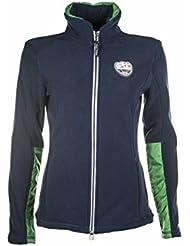 HKM PRO de Team chaqueta de forro polar–Global Team New de, color azul oscuro, tamaño 140