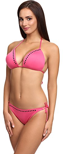 SHE Damen Bikini Set Trish Rosa (2322)