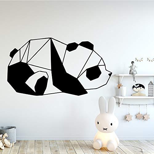 BailongXiao Panda wandkunst Aufkleber Dekoration kinderzimmer Mode wandaufkleber Wohnzimmer Wohnzimmer Dekoration wasserdichte wandkunst Aufkleber 45x81 cm