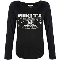 Nikita Maywood Camiseta, Mujer, Negro, L