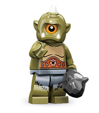 LEGO 71000 - Minifigur Zyklop aus Sammelfiguren-Serie 9 (Lego Serie 9 Minifiguren)