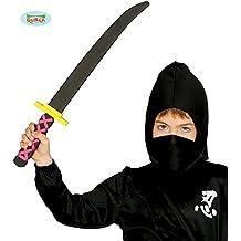 Espada Samurai goma EVA 53 cm para niño