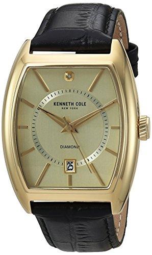 kenneth-cole-new-york-pour-homme-diamant-quartz-montre-en-acier-inoxydable-et-cuir-couleur-noir-modl