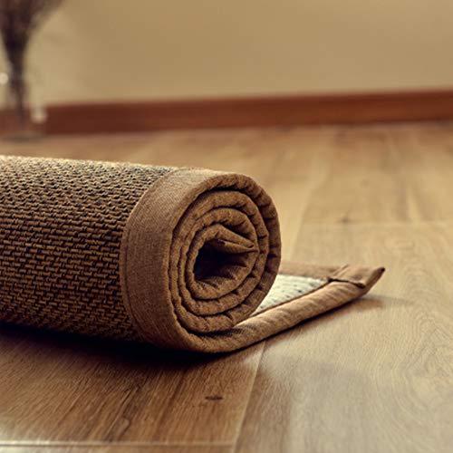 Japanische Design-tatami-matte (WJH Geflochtenem Bambus Teppich, Japanischen Tatami-matten, Design teppiche Atmungsaktive Schlafzimmer Wohnzimmer Anti-Skid Waschbar Fußboden Teppich Home-B 50x150cm(20x59inch))