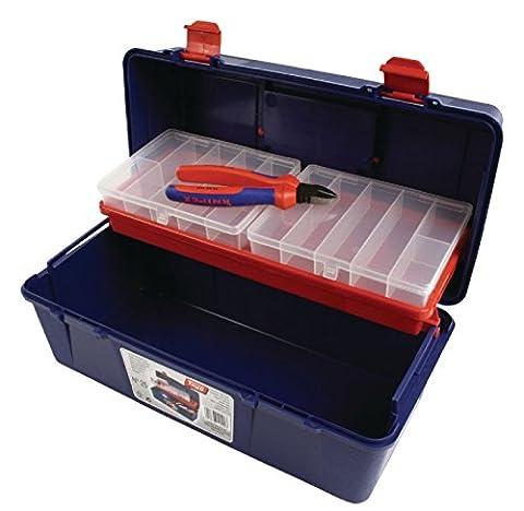 Eurosell Profi Werkzeugkoffer + Sortimentsboxen Set für Werkzeug; Schrauben, Zubehör