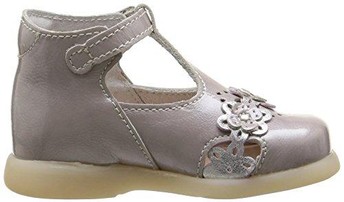 Little Mary Pastel, Chaussures premiers pas bébé fille Violet (Apache Brume)