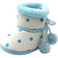 Zapatos Bebe Primeros Pasos, Zolimx Muchachas Lindas del Bebé Niña Niño Botas Suaves de Nieve