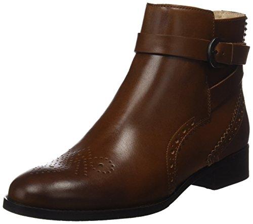 Clarks Damen Netley Olivia Chelsea Boots, Braun (Tan Leather), 39.5 EU