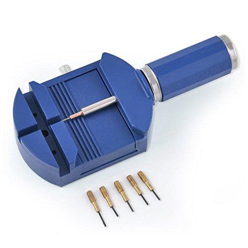 Uhrenarmband-Verbindungs-Remover-Handgelenk-Armband-B¨¹gel-Teller und 5 Pins Reparatur-Werkzeug-Set LUFA