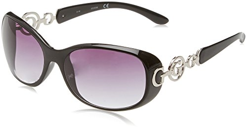 Guess Damen GU7022F_C38 Sonnenbrille, Schwarz (Nero), 61